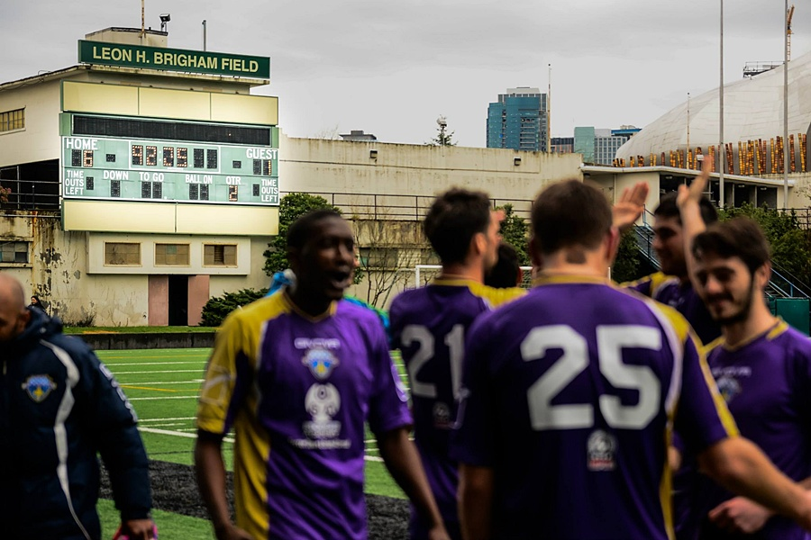The scorebaord tells the story. (Marcus Annable)