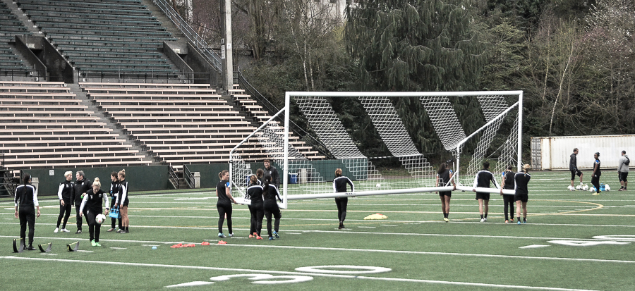 Picture Perfect: Francine Scott at Seattle Reign FC practice
