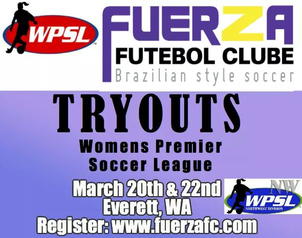 Fuerza (Marysville) hosting open tryouts for WPSL and new men's team