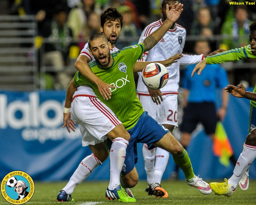 Sounders fall to San Jose, 3-2