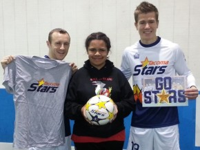 "Tacoma Stars assist with KING 5 ""Family for Me"" video"