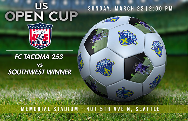 FCT 253 Open Cup play-in match scheduled for Memorial Stadium Seattle