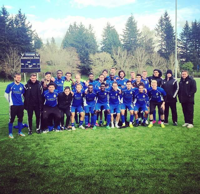 The Kitsap Pumas packed their scoring boots in Bellingham. (Club photo)