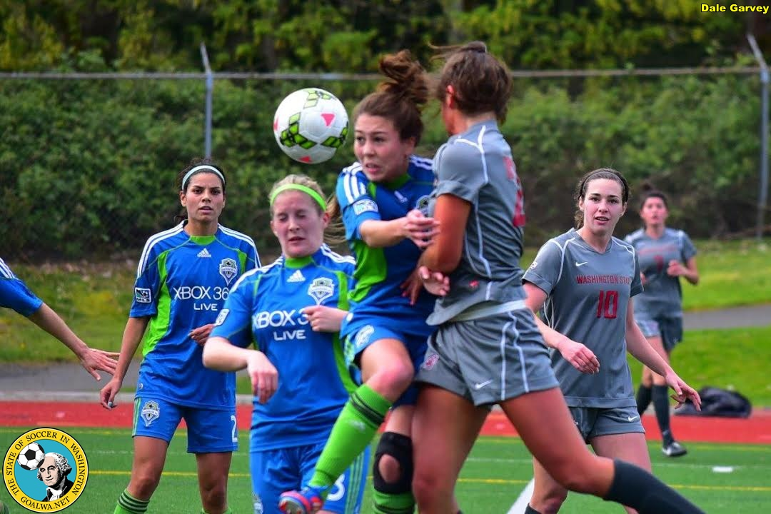 Sounders Women draw 2-2 with WSU Cougars in Bellevue