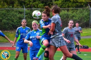 Sounders Women draw 2-2 with WSU Cougars inBellevue