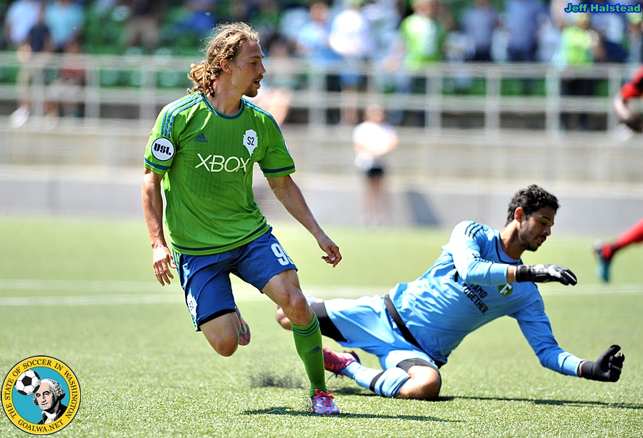 Sounders 2 knock Timbers 2 out of Open Cup inovertime