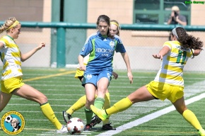 Picture Perfect: Dale Garvey shoots Sounders Women v. Oregon Ducks