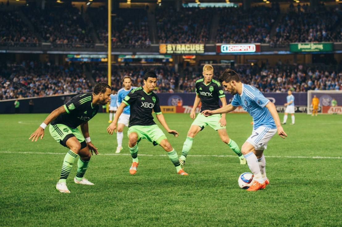 Start spreading the news: Sounders beat New York City FC 3-1