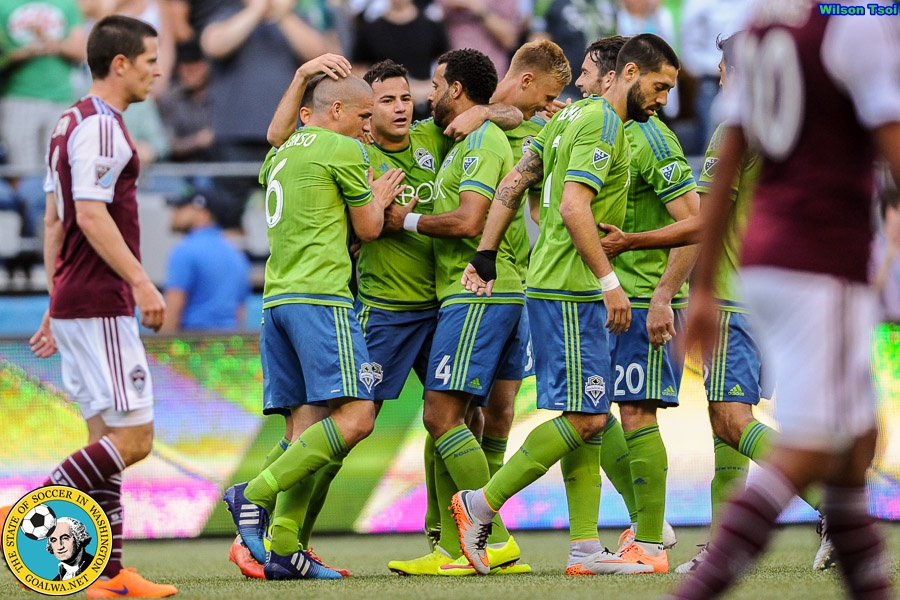 Pappa's golazo is enough for Sounders