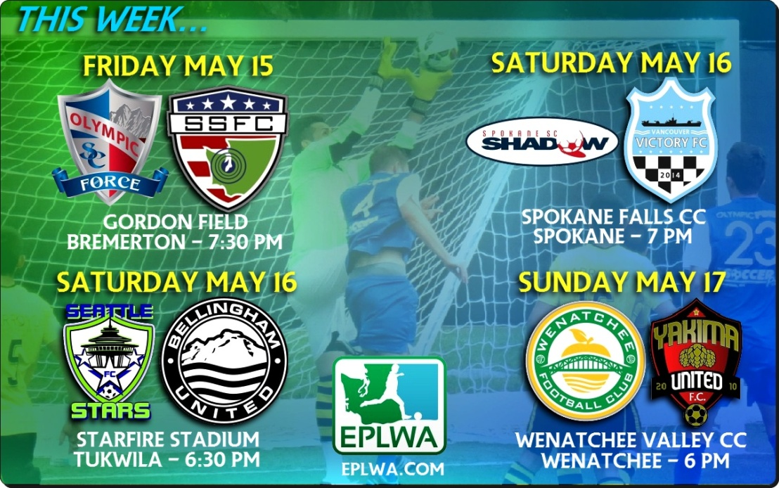 EPLWA Storylines: Vancouver travels to Spokane; Central Washington derby round three in Wenatchee