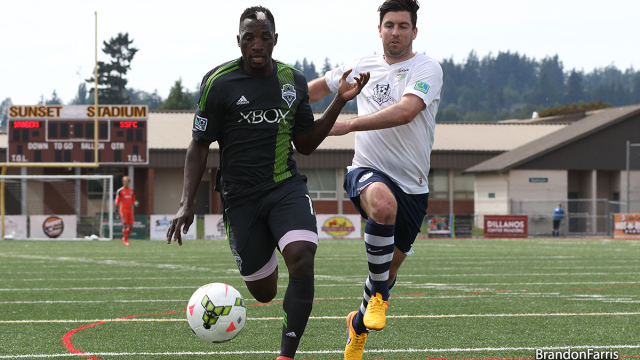 Sounders U23 battle to 1-1 draw with South Sound FC infriendly