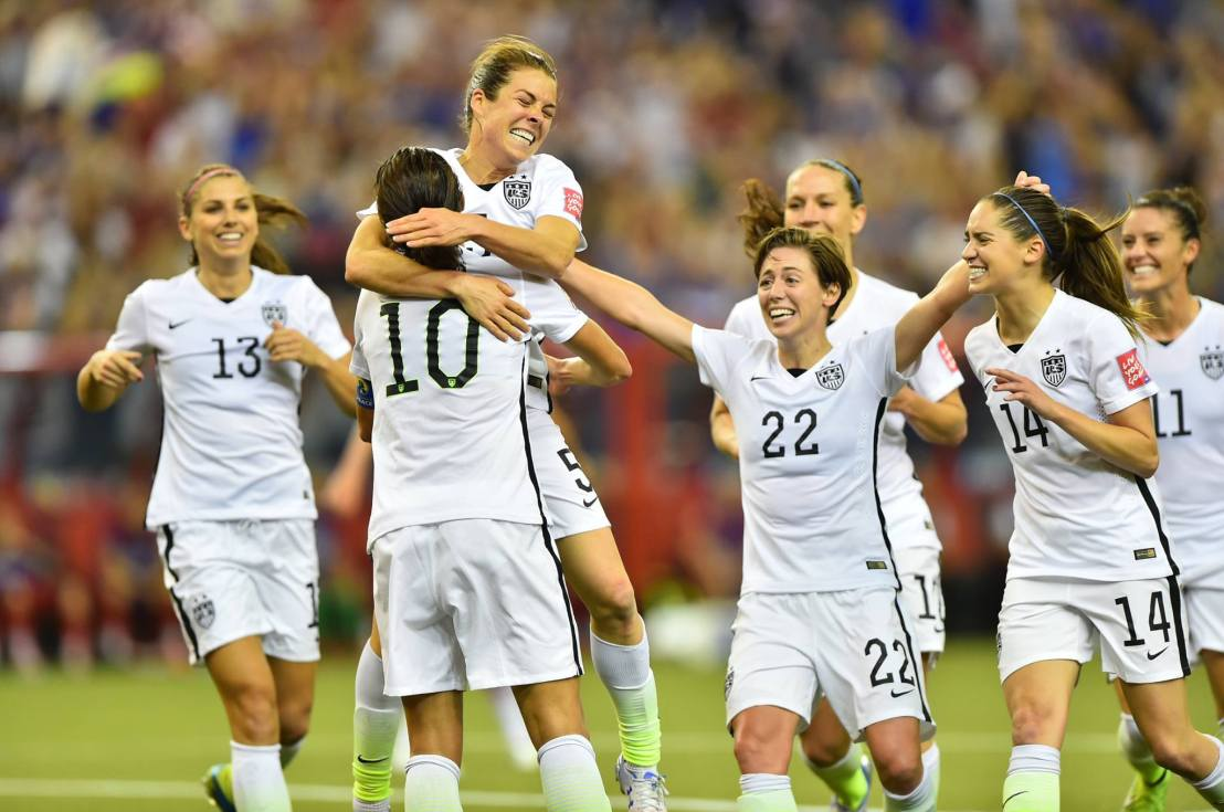 USA! USA! Women advance to World Cup Final in VancouverBC
