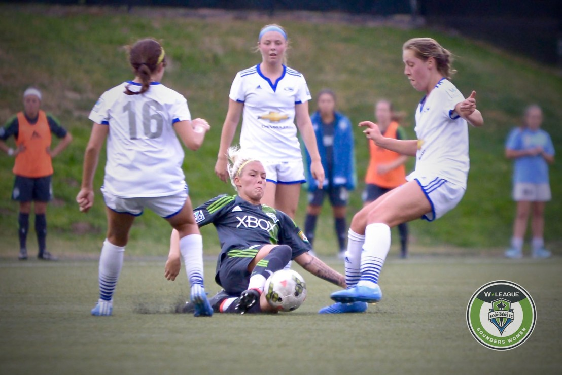 Sounders Women get Rushed in a 2-2 draw
