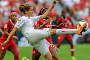 Picture Perfect: Wilson Tsoi shoots World Cup Canada – Switzerland at BCPlace