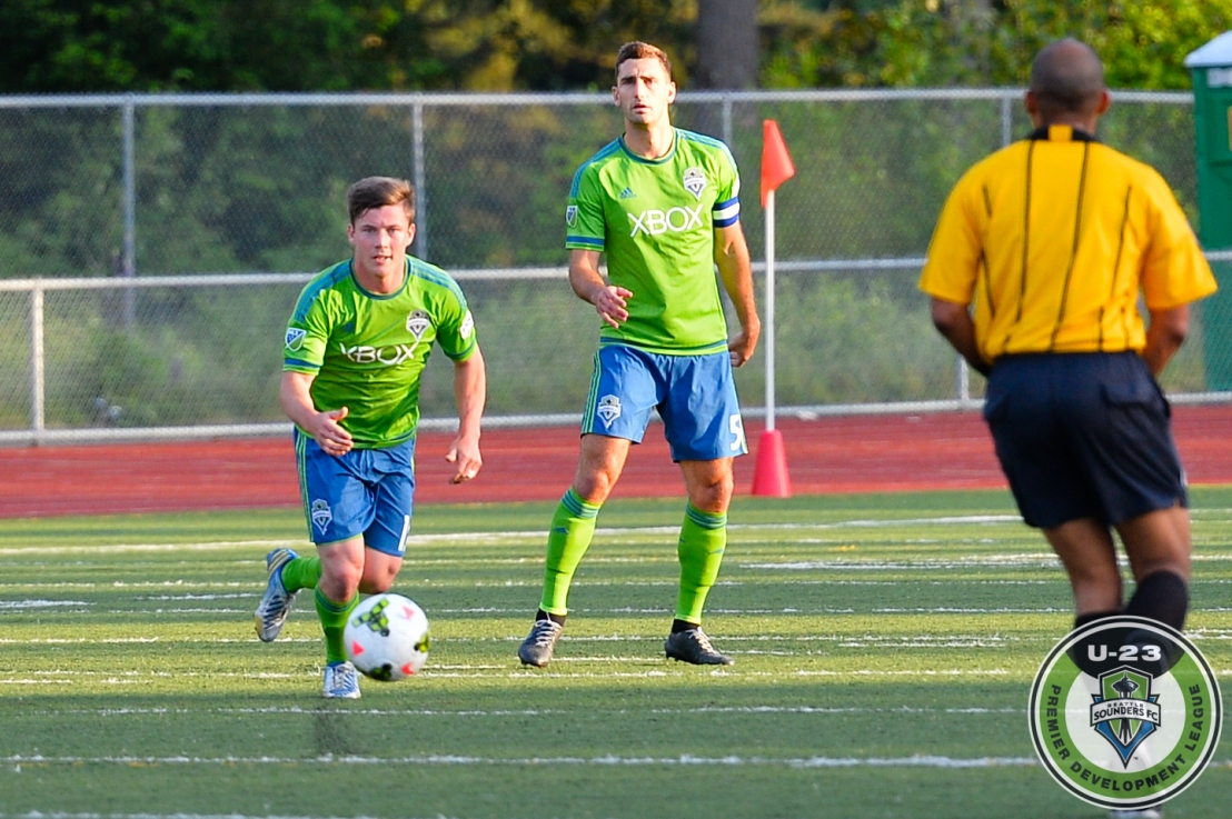 Sounders U23 Player Mark Lee (15)
