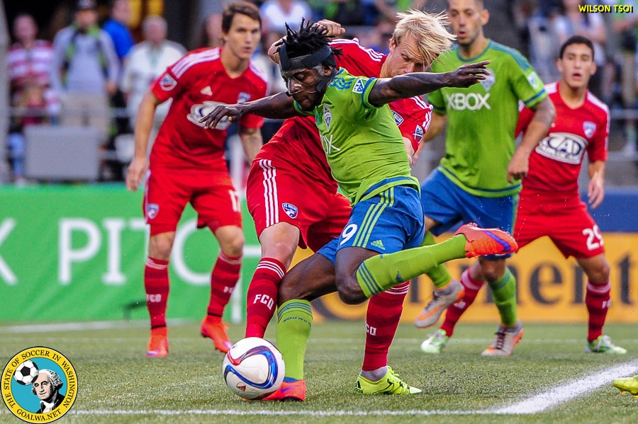 Second half barrage leads Sounders over Dallas