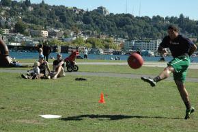 Seattle joins in the WAKA Kickballparty