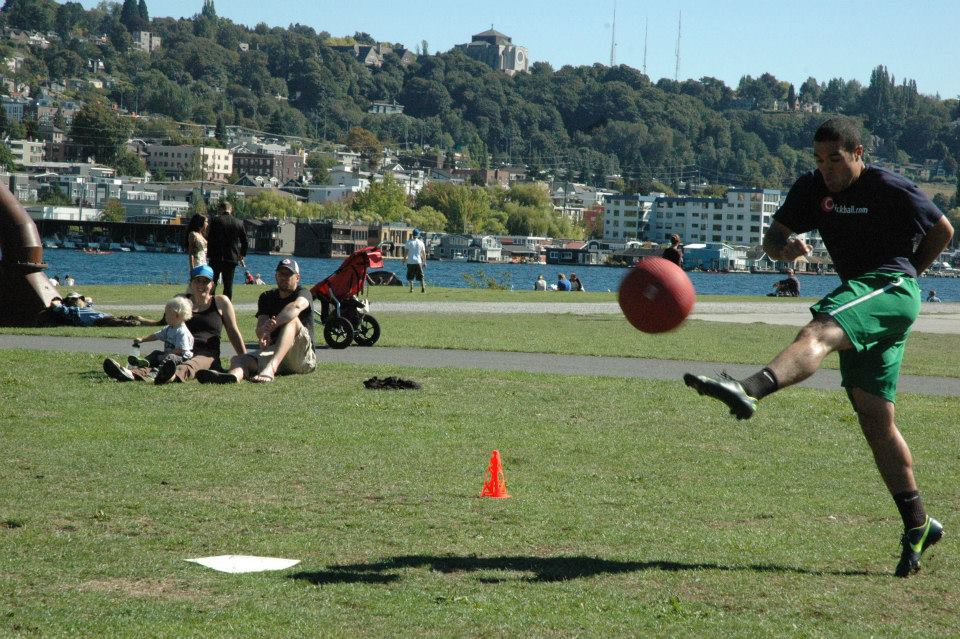 Seattle joins in the WAKA Kickball party