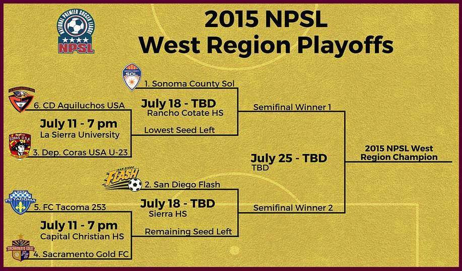 FC Tacoma to play in NPSL Western Regionals in Sacramento