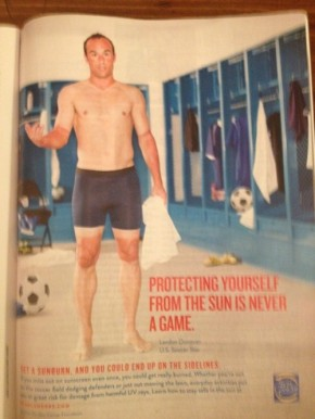 OUR GAME: Soccer, Skin and Sunburn – Prevention way better thanpain