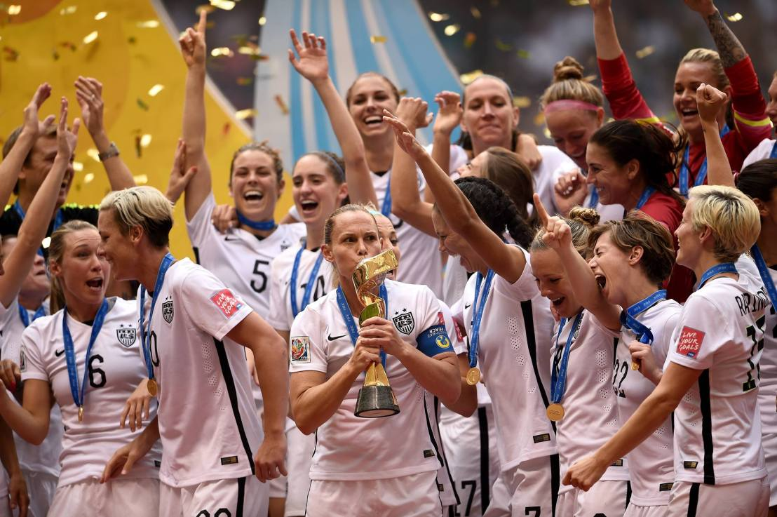US Women win third World Cup with amazing early eruption