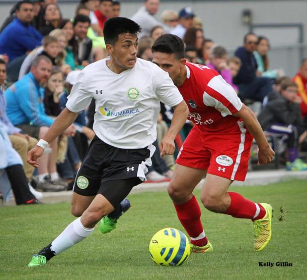 Eleazar Galvan is headed to Virginia from Wenatchee FC to help South Sound FC at U23 Nationals. (Kelly Gillin)