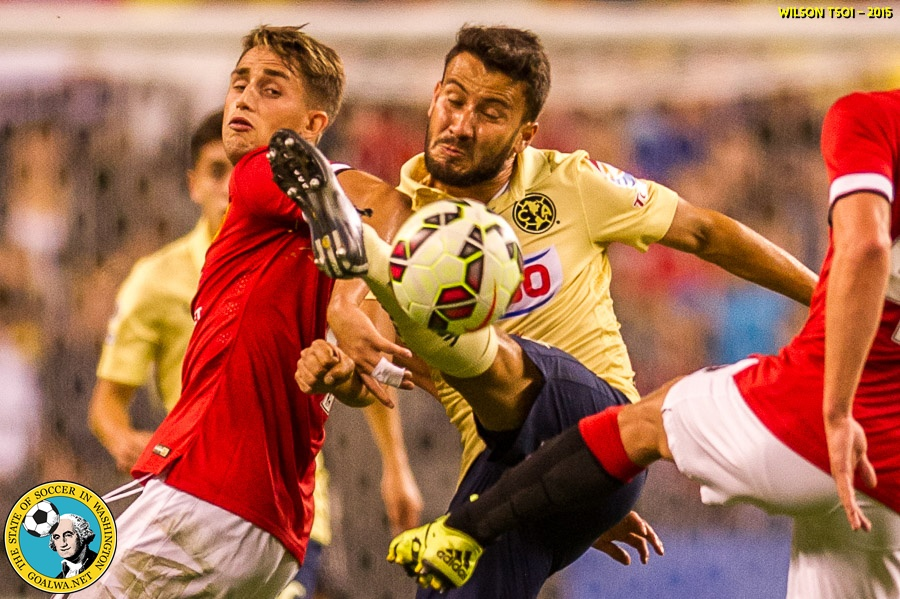 Picture Perfect: Wilson Tsoi captures over 250 Manchester United – Club America photos