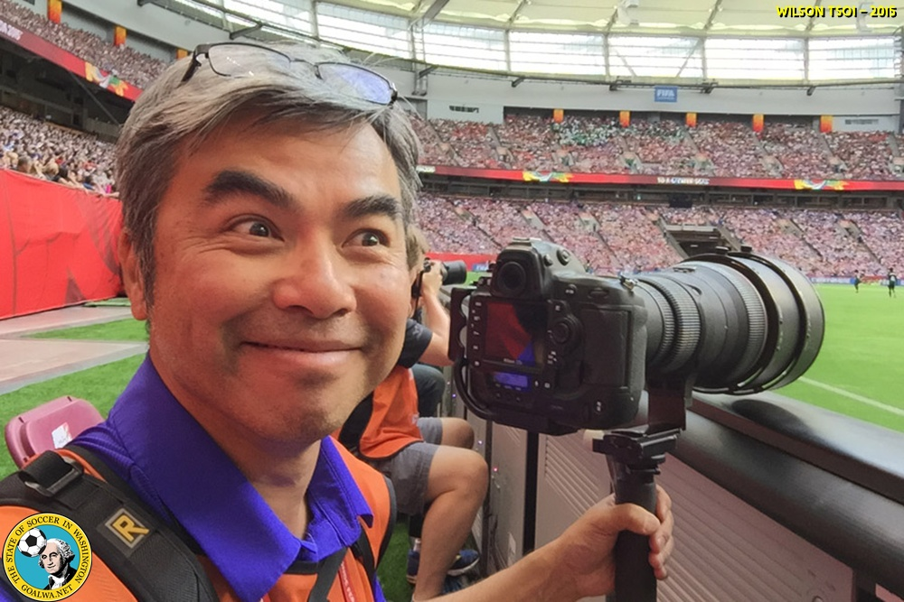 Wilson Tsoi will shoot the 2015 FIFA Women's World Cup Final for goalWA.net.