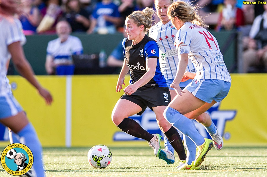 Reign FC's Kim Little voted NWSL Player of Month forJune
