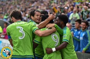 Picture Perfect: Sounders edge Timbers