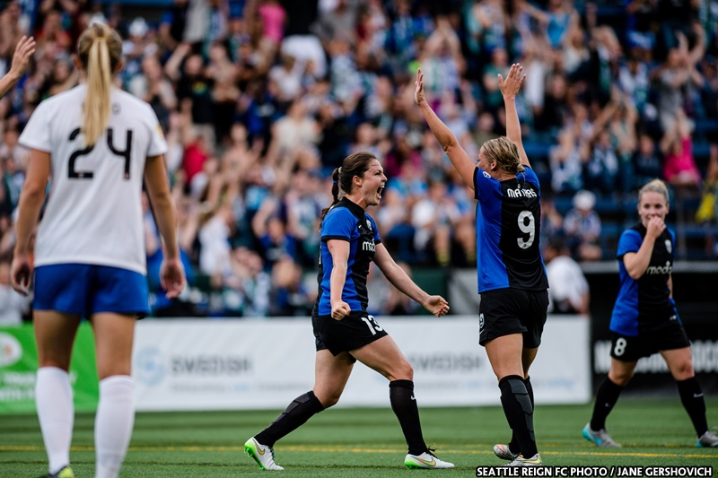 Reign FC claim second straight NWSL shield for best regular season record