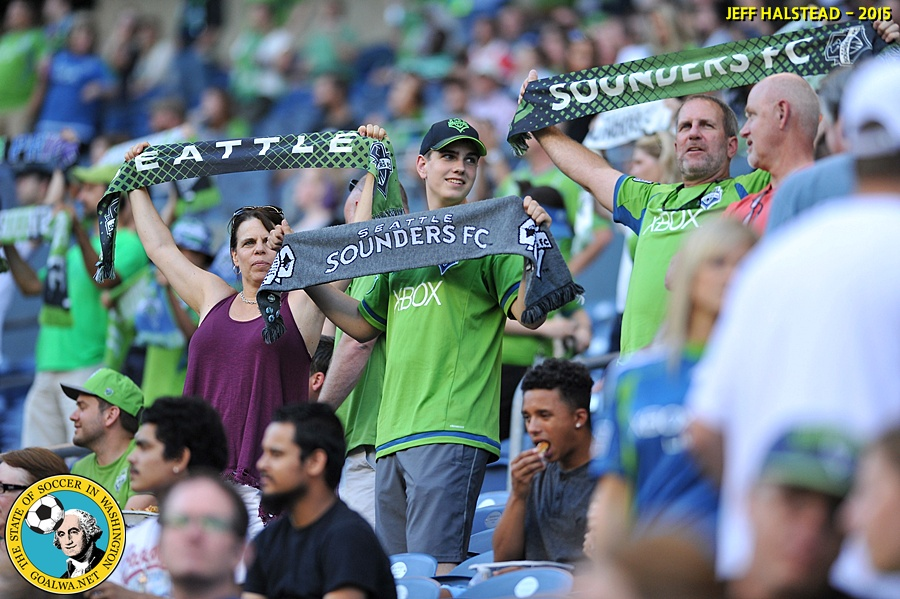 Picture Perfect: Jeff Halstead shoots Sounders v. Olimpia
