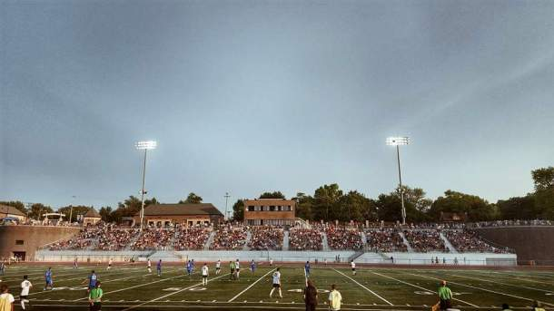 Grand Rapids FC of the 5th Division GLPL drew over 5,000 fans to matches in 2015. (GRFC Facebook)