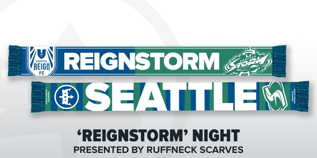 Seattle Reign FC, Seattle Storm announce 'ReignStorm' Night presented by Ruffneck Scarves