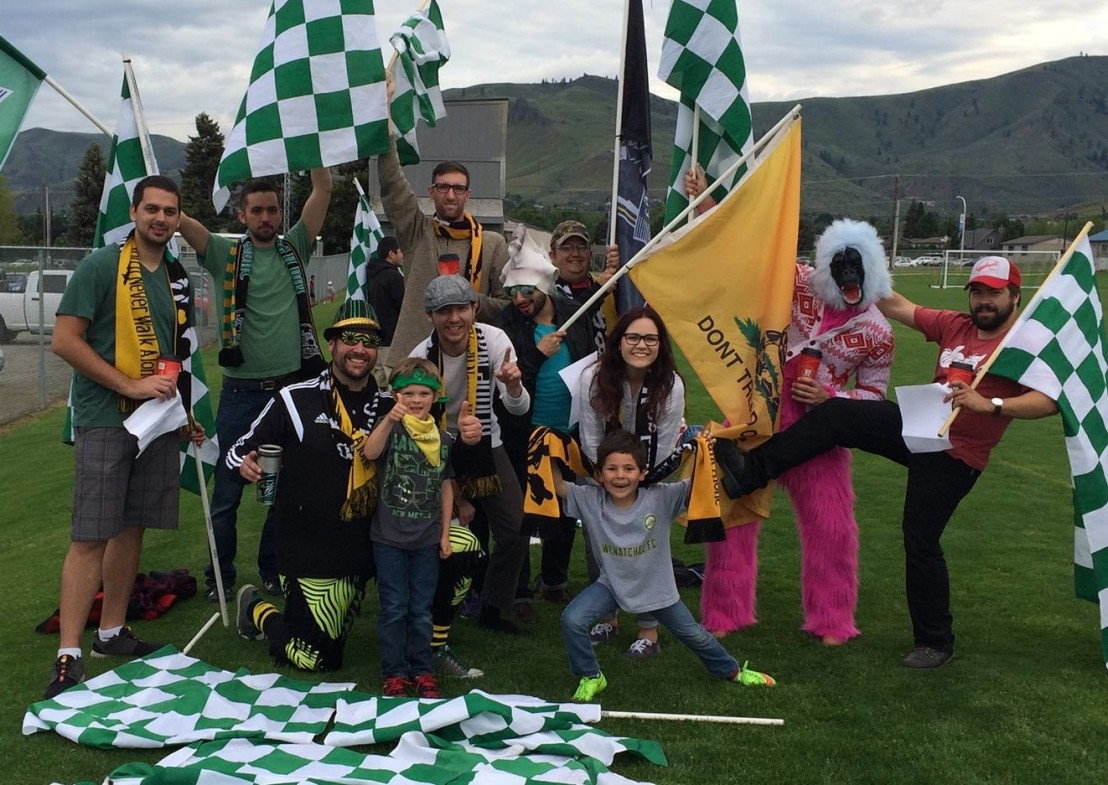 Video Buzz: The Bridge Mafia supports Wenatchee FC