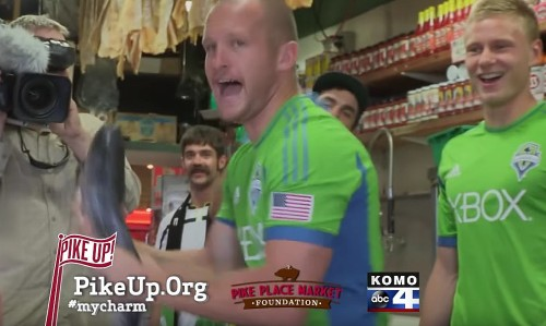 Video Buzz: Sounders at Pike Place, in Spain, and featured by local youth