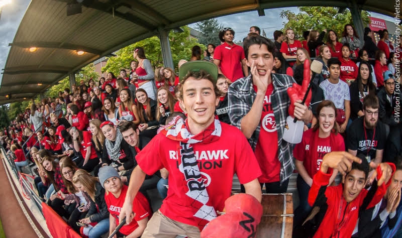 Picture Perfect: Redhawks and Huskies in Seattle college derby
