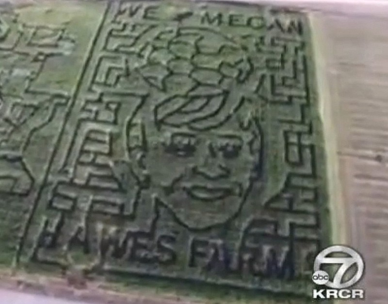 Social Buzz: Megan Rapinoe honored with corn maze