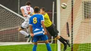 Redhawks nip Spartans on Olsen header